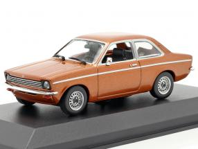Opel Kadett C Year 1974 bronze metallic 1:43 Minichamps