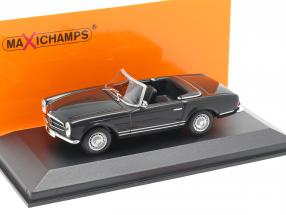 Mercedes-Benz 230 SL Year 1965 dark gray 1:43 Minichamps