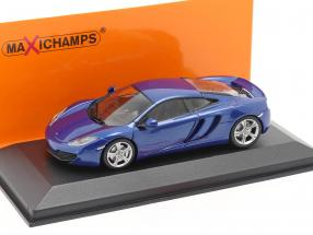 McLaren 12C Year 2011 blue 1:43 Minichamps