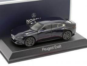 Peugoet Concept Car Exalt Version 2015 dark blue / Black metallic 1:43 Norev