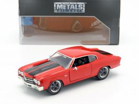 Dom's Chevrolet Chevelle SS Fast and Furious red / black 1:24 Jada Toys