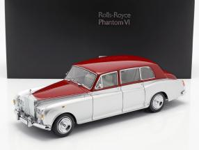 Rolls Royce Phantom VI silver / red 1:18 Kyosho