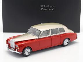 Rolls Royce Phantom VI red / light beige 1:18 Kyosho