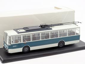 Skoda-14TR O-Bus Eberswalde white / dark green 1:43 Premium ClassiXXS