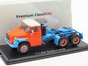 Tatra T148 Solozugmaschine blue / orange 1:43 Premium ClassiXXs