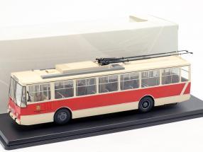 Skoda-14TR O-Bus Potsdam beige / red 1:43 Premium ClassiXXS