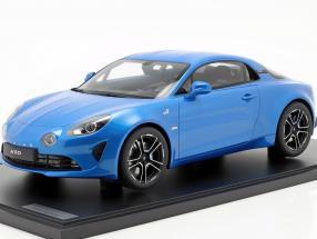 Renault Alpine A110 Premiere Edition 2018 blue 1:8 GT-Spirit