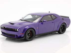Dodge Challenger SRT Hellcat Widebody 2019 purple 1:18 GT-Spirit