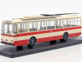 Skoda-14TR O-Bus Weimar beige / red 1:43 Premium ClassiXXS