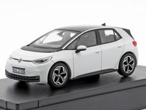 Volkswagen VW ID.3 Electric Car 2019 glacier white 1:43 Norev