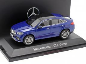 Mercedes-Benz GLE Coupe C167 brilliant blue 1:43 iScale