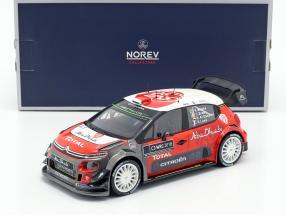 Citroen C3 WRC 2018 Showcar 2018 Meeke, Breen, Loeb, Al Qassimi