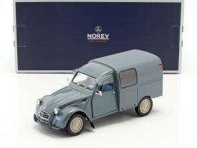 Citroen 2CV Fourgonette AK350 year 1966 blue 1:18 Norev