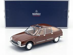 Citroen GS Pallas year 1978 brown 1:18 Norev