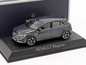 Renault Megane year 2016 titanium grey 1:43 Norev