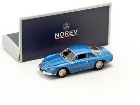 Alpine A110 year 1973 blue metallic 1:87 Norev