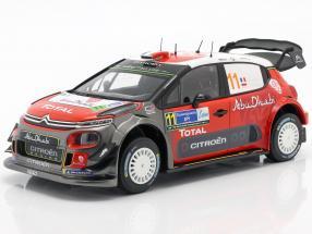 Citroen C3 WRC 2018 #11 Rally Mexico 2018 Loeb, Elena
