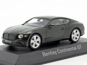 Bentley Continental GT year 2018 racing green 1:43 Norev