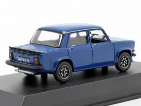 Simca 1000 Rally 3 Prototype year 1978 talbot blue