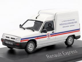 Renault Express year 1995 gendarmerie white 1:43 Norev