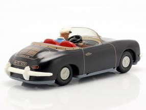Porsche 356 TuWa Tin car black
