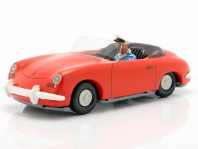Porsche 356 TuWa Tin car red Tippco