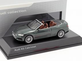 Audi A5 Cabriolet year 2017 gotland green 1:43 Spark