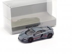 McLaren 675LT coupe chicane grey 1:87 Minichamps