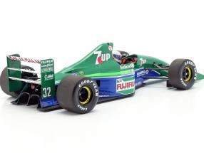 Bertrand Gachot Jordan 191 #32 6th British GP F1 1991