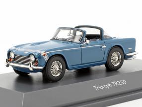 Triumph TR250 Surrey-Top blue 1:43 Schuco
