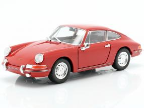 Porsche 911 year 1964 red 1:24 Welly