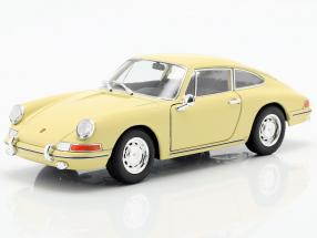 Porsche 911 year 1964 yellow 1:24 Welly