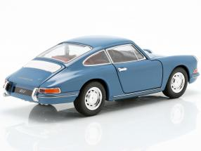 Porsche 911 year 1964 blue 1:24 Welly