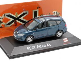 Seat Altea XL dark blue metallic 1:43 Seat