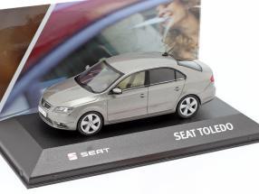 Seat Toledo IV year 2012-2019 silver grey metallic 1:43 Seat