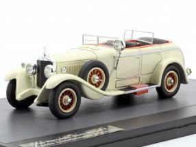 Mercedes-Benz Modell K Torpedo Transformable Saoutchik 1926 cream white 1:43 Matrix