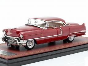 Cadillac Sedan DeVille year 1956 mandan red 1:43 GLM