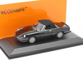 Alfa Romeo Spider year 1983 black 1:43 Minichamps