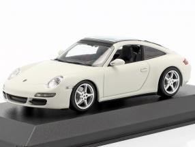 Porsche 911 (997) Targa year 2006 white 1:43 Minichamps