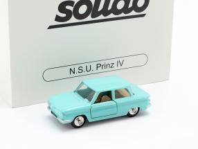 NSU Prinz IV year 1961 turquoise 1:43 Solido