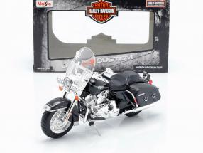 Harley Davidson FLHRC Road King Classic 2013 black 1:12 Maisto