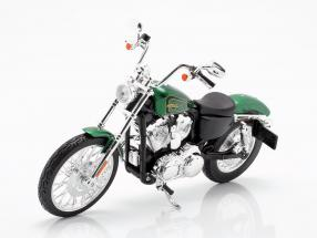 Harley Davidson XL 1200V Seventy-Two year 2012 green metallic 1:12 Maisto