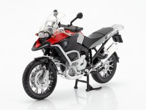 BMW R1200 GS year 2007 red / silver / black 1:12 Maisto
