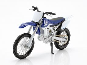 Yamaha YZ450F blue / white / black 1:12 Maisto