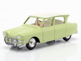 Citroen Ami 6 Berline year 1961 light green 1:43 Solido