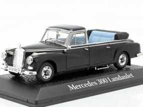 Mercedes-Benz 300 Landaulet Konrad Adenauer 1963 black 1:43 Norev