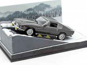 Aston Martin V8 Vantage James Bond Movie Car of the Living Daylights 1:43 Ixo
