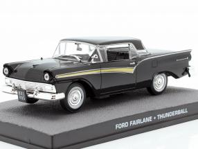 Ford Fairlane Car James Bond movie Thunderball 1:43 Ixo
