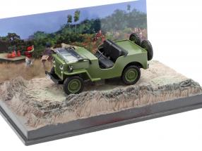 Willys Jeep M606 James Bond movie Octopussy brown Car 1:43 Ixo