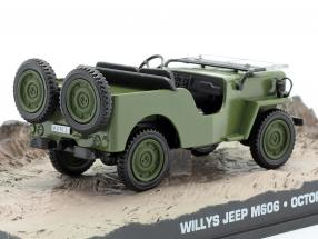 Willys Jeep M606 James Bond movie Octopussy brown Car